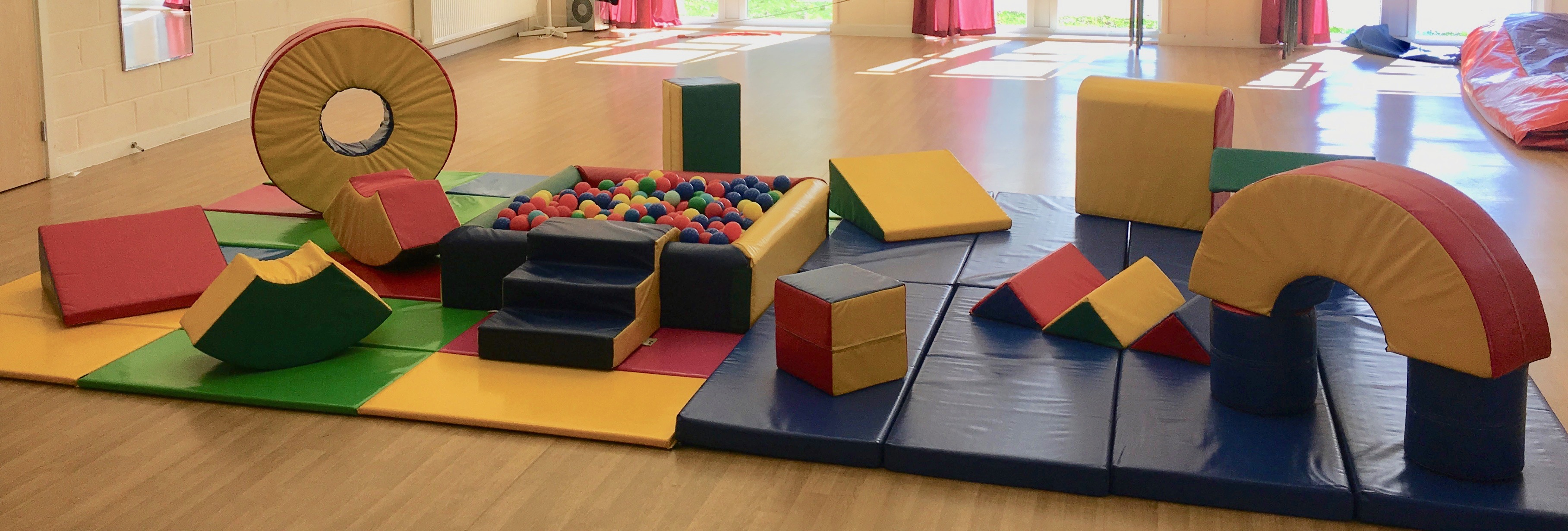 Set 3 Soft play