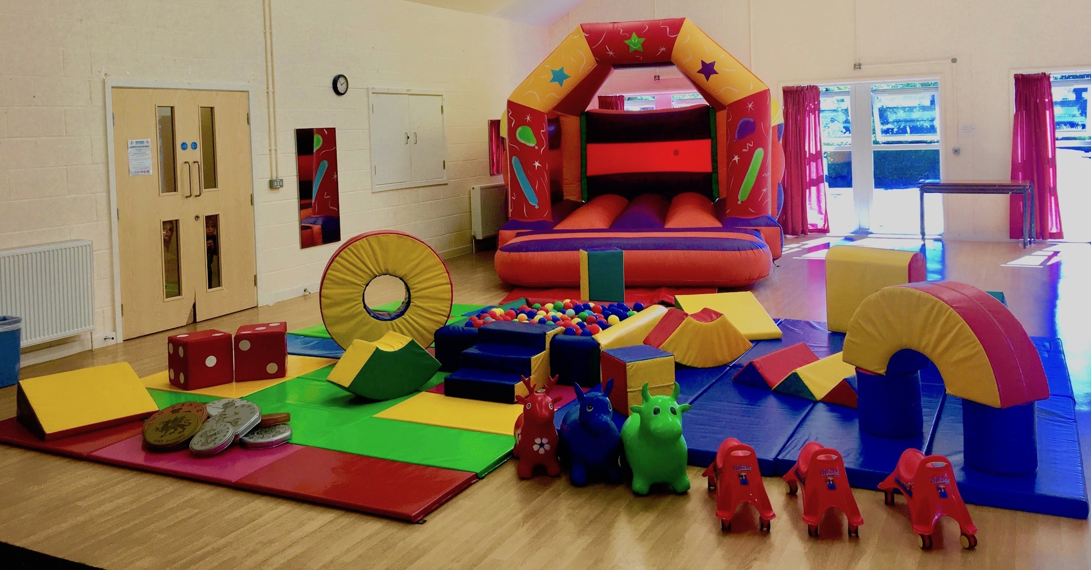 Set 4 Soft play & Castle