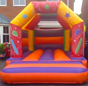 12 x 12balloons stevenage bouncy castle