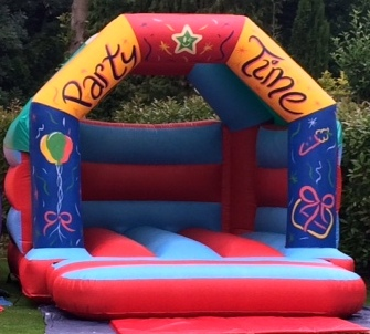 12 x12Partytime-bouncycastle