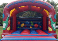 18x18 adult bouncy castle hire