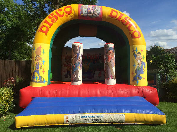 discodisco bouncy castle hire