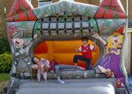 fortress bouncy castle hire