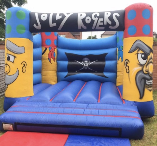 jolly roger bouncy castle