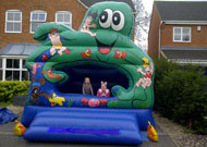 octopus bouncy castle hire