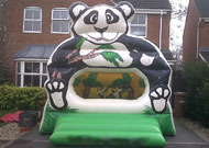 panda bouncy castle hire