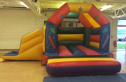 slidecastle childrens bouncy castle